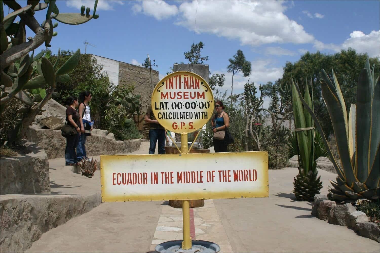Où est la ligne de l'Équateur?